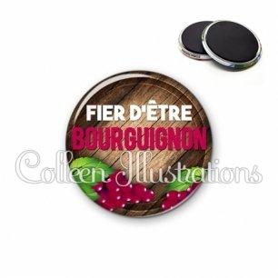 Magnet 56mm Fier d'être bourguignon (137MAR03)