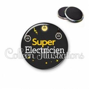 Magnet 56mm Super électricien (159GRI01)