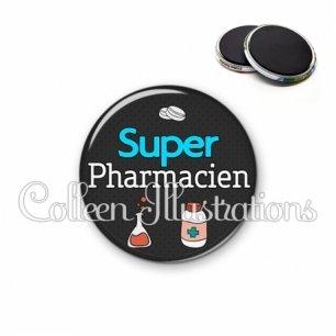 Magnet 56mm Super pharmacien (166GRI01)