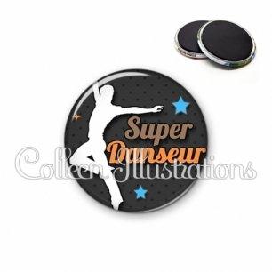 Magnet 56mm Super danseur (175GRI01)