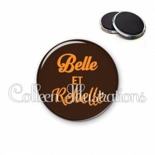 Magnet 56mm Belle et rebelle (181MAR01)