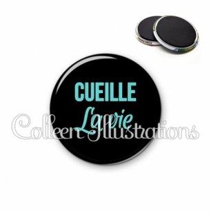 Magnet 56mm Cueille la vie (181NOI04)