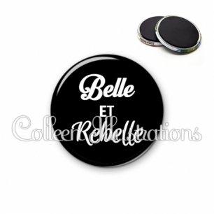 Magnet 56mm Belle et rebelle (181NOI09)