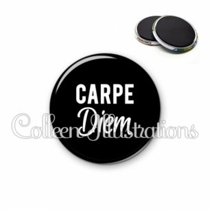 Magnet 56mm Carpe diem (181NOI09)
