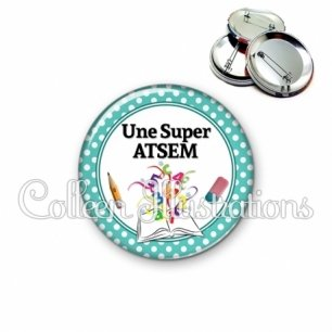 Badge 56mm Super atsem (001VER01)