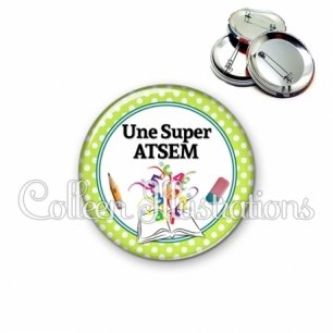 Badge 56mm Super atsem (001VER02)