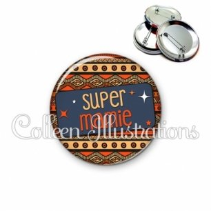 Badge 56mm Super mamie (003MUL03)