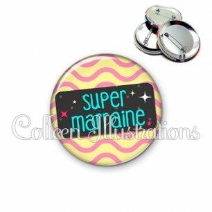 Badge 56mm Super marraine (003MUL04)
