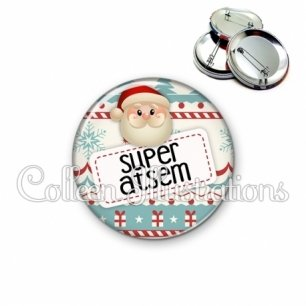 Badge 56mm Super ATSEM (003MUL06)