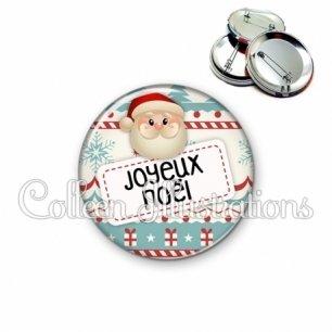 Badge 56mm Joyeux Noël (003MUL06)