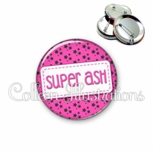 Badge 56mm Super ASH (003ROS01)