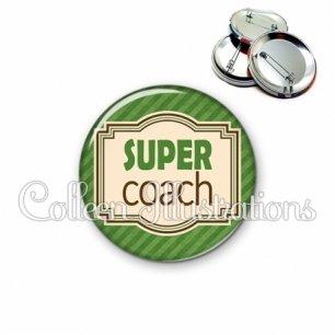 Badge 56mm Super coach (004VER01)