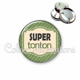 Badge 56mm Super tonton (004VER02)