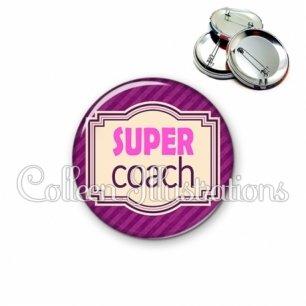 Badge 56mm Super coach (004VIO02)