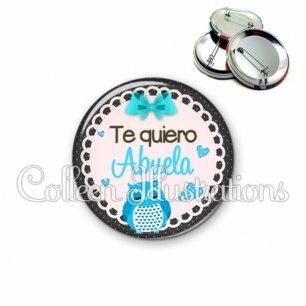 Badge 56mm Te quiero abuela (005BLE01)