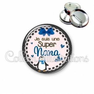 Badge 56mm Super nana (005BLE03)