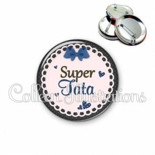 Badge 56mm Super tata (005BLE07)