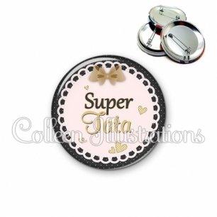 Badge 56mm Super tata (005MAR01)