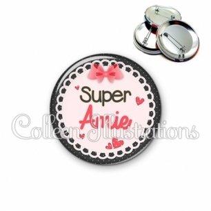 Badge 56mm Super amie (005ROS01)