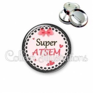 Badge 56mm Super ATSEM (005ROS01)