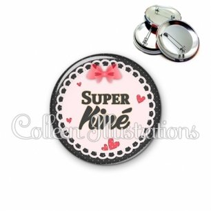Badge 56mm Super kiné (005ROS01)