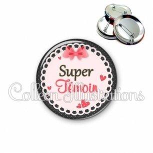 Badge 56mm Super témoin (005ROS01)