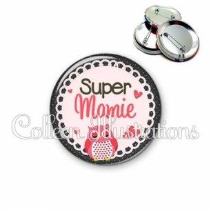 Badge 56mm Super mamie (005ROS02)