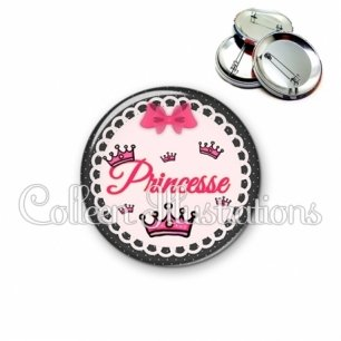 Badge 56mm Princesse (005ROS04)