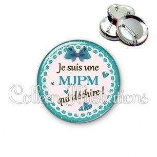 Badge 56mm MJPM qui déchire (005VER04)
