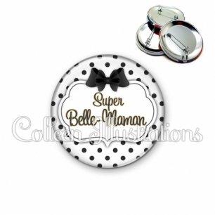 Badge 56mm Super belle-maman (006BLA01)