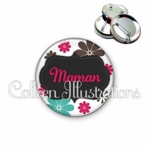 Badge 56mm Maman (006BLA02)