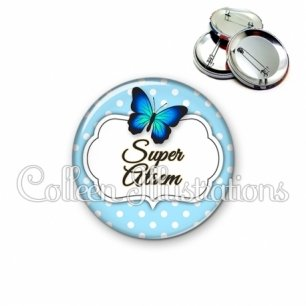Badge 56mm Super ATSEM (006BLE01)