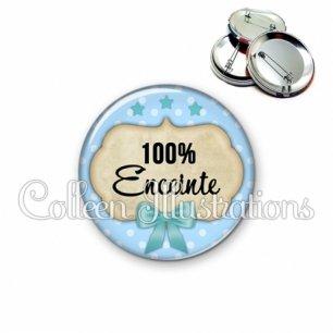 Badge 56mm 100% enceinte (006BLE04)