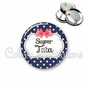 Badge 56mm Super tata (006BLE06)