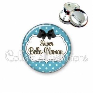 Badge 56mm Super belle-maman (006BLE12)