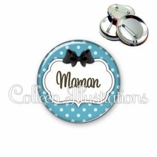 Badge 56mm Maman (006BLE12)