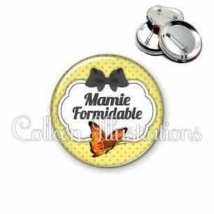Badge 56mm Mamie formidable (006JAU02)