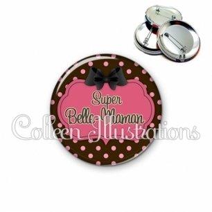Badge 56mm Super belle-maman (006MAR01)