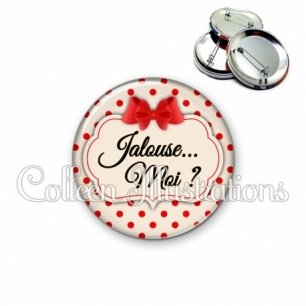 Badge 56mm Jalouse (006MAR03)