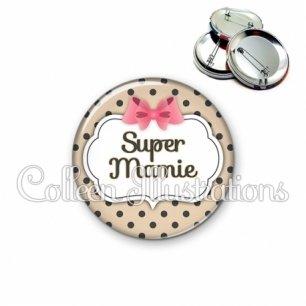 Badge 56mm Super mamie (006MAR04)