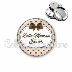 Badge 56mm Belle-maman en or (006MAR07)