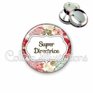 Badge 56mm Super directrice (006MUL03)