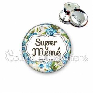 Badge 56mm Super mémé (006MUL04)