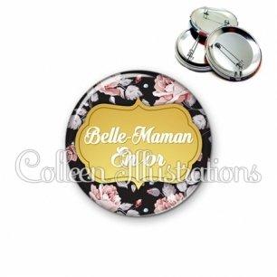 Badge 56mm Belle-maman en or (006MUL12)