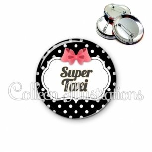 Badge 56mm Super taxi (006NOI13)