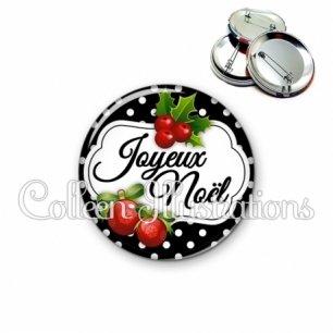 Badge 56mm Joyeux noël (006NOI15)