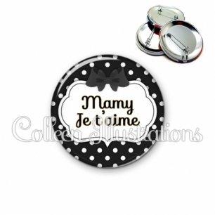 Badge 56mm Mamy (006NOI16)