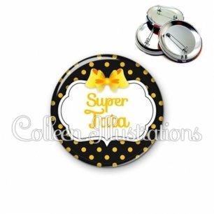 Badge 56mm Super tata (006NOI17)
