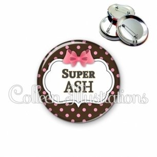Badge 56mm Super ASH (006NOI22)