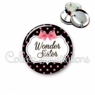 Badge 56mm Wonder sister (006NOI22)